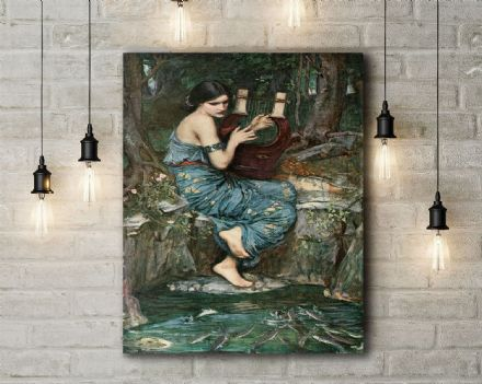 John William Waterhouse: The Charmer. Fine Art Canvas.